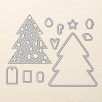 Ornamental Christmas Framelits Dies