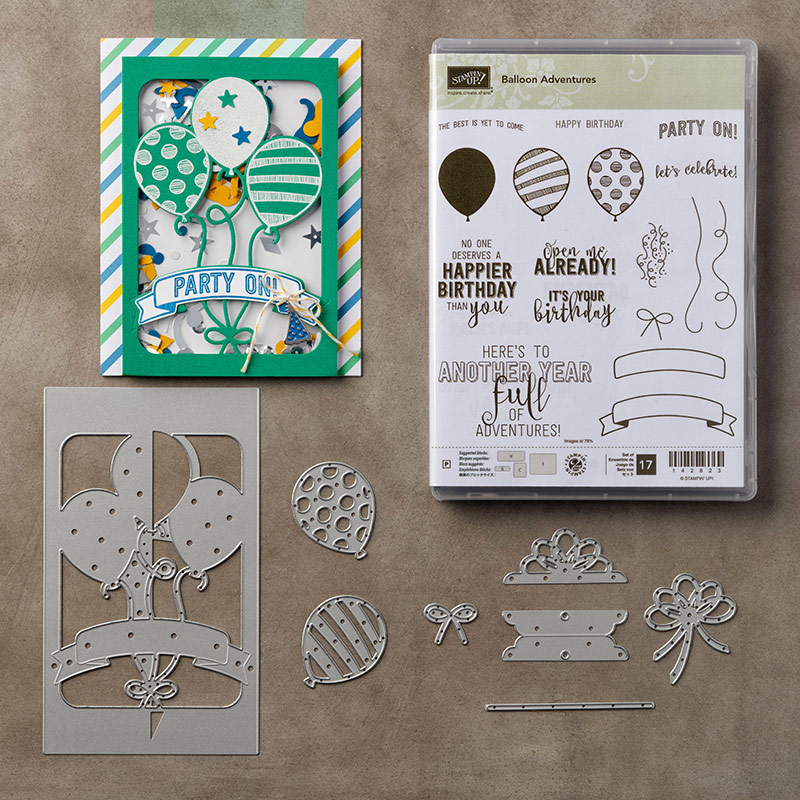Balloon Adventures Bundle, Stampin' Up!