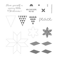Christmas Quilt Photopolymer Stamp Set