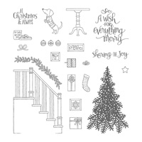Ready for Christmas Photopolymer Stamp Set