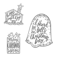 Darling Christmas Clear-Mount Stamp Set