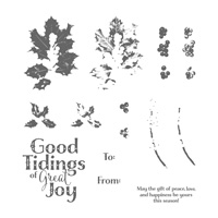 Good Tidings Photopolymer Stamp Set
