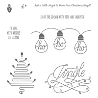 Wishes All Aglow Clear-Mount Stamp Set