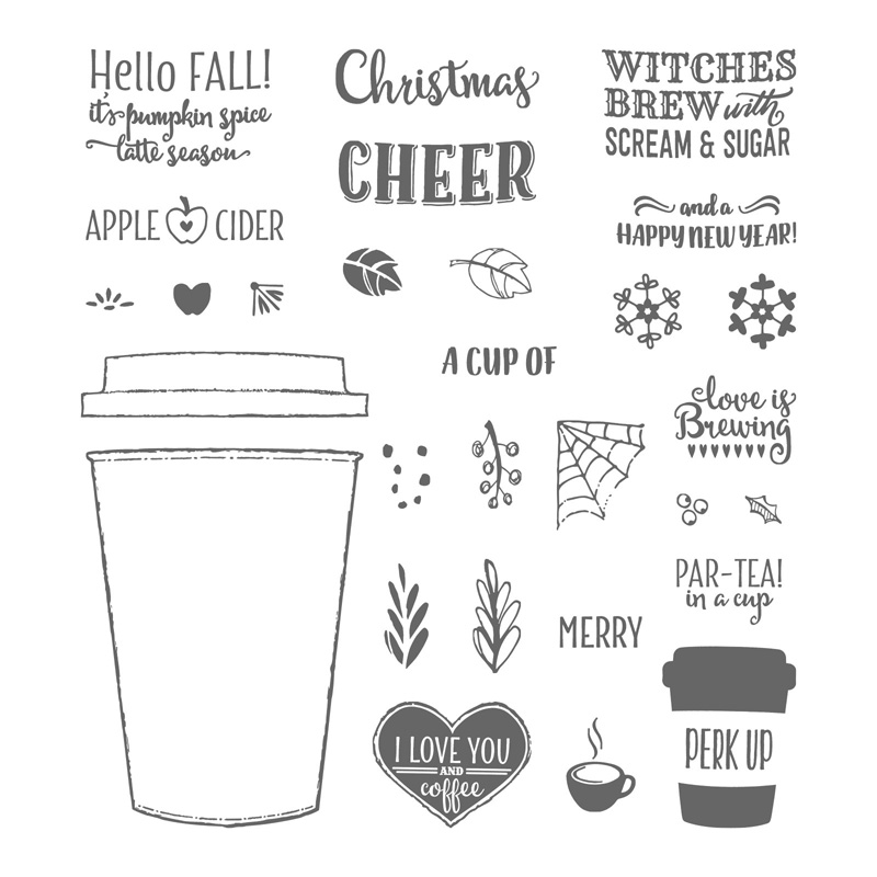 Merry Café Stamp Set