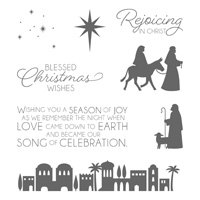 Night In Bethlehem Clear-Mount Stamp Set