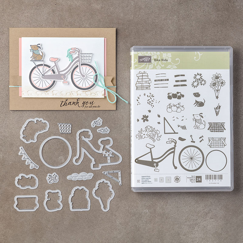 Bike Ride Bundle, Stampin' Up!