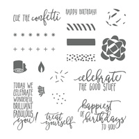 Picture Perfect Birthday Photopolymer Stamp Set