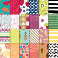 Tutti-frutti 6 x 6 (15.2 x 15.2 cm) Designer Series Paper