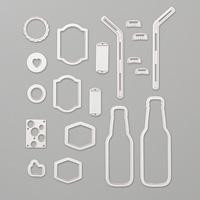 Bottle & Bubbles Framelit Dies