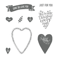 Sure Do Love You Clear-Mount Stamp Set
