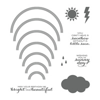 Sunshine & Rainbows Photopolymer Stamp Set