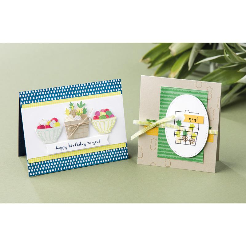 Fruit Basket Photopolymer Stamp Set