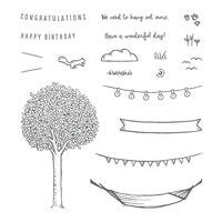 In the Trees Photopolymer Stamp Set