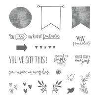 Yay You Photopolymer Stamp Set