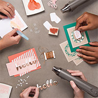 Hello Friend Heat Embossing Project Kit