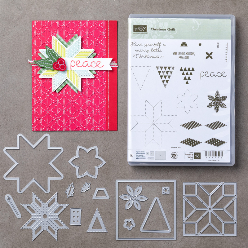 Christmas Quilt Photopolymer Bundle
