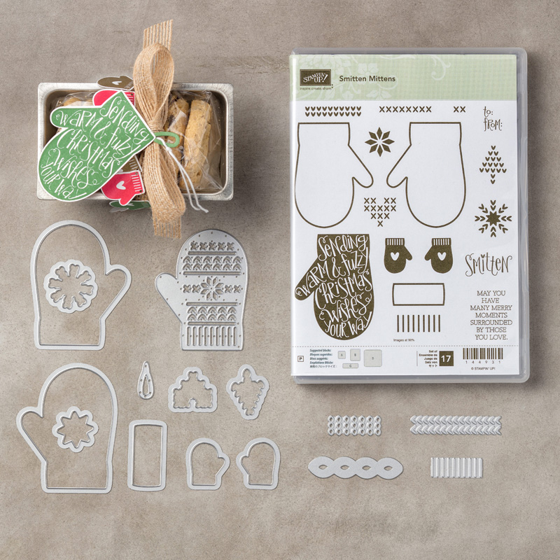 Smitten Mittens Stamps and Dies Bundle