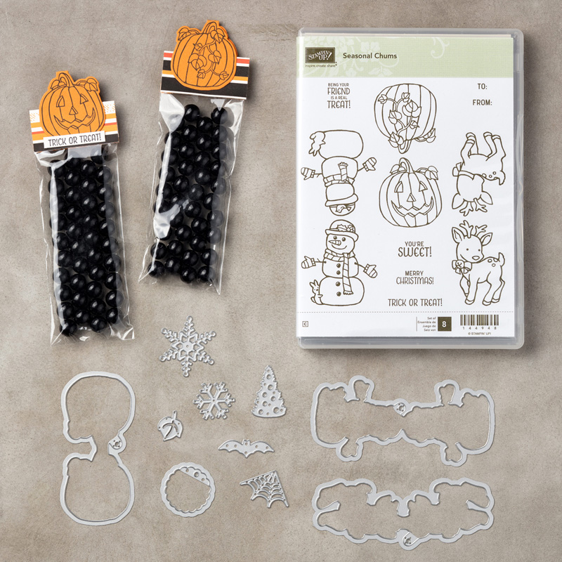 Seasonal Chums Bundle, Stampin' Up!