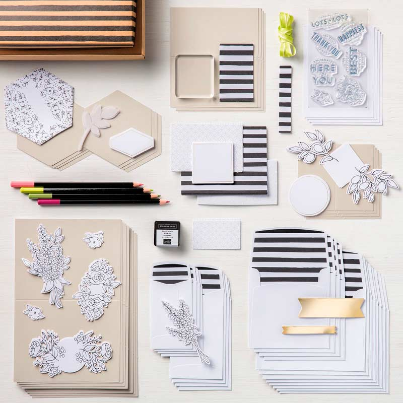 Afbeeldingsresultaat voor lots of happy card kit stampin up