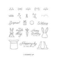 Best Bunny Photopolymer Stamp Set