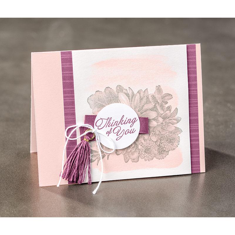 Heartfelt Blooms Clear-Mount Stamp Set