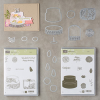 Cake Soiree Clear-Mount Bundle