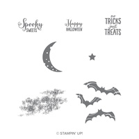 Spooky Sweets Clear Mount Stamp Set