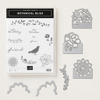 Botanical Bliss Wood Mount Bundle