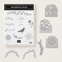 Botanical Bliss Clear Mount Bundle