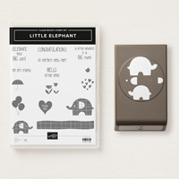 Little Elephant Clear Mount Bundle