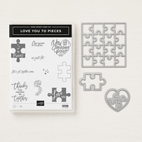 Love You To Pieces Wood Mount Bundle