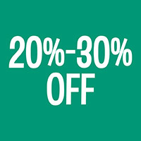 20-30% Off